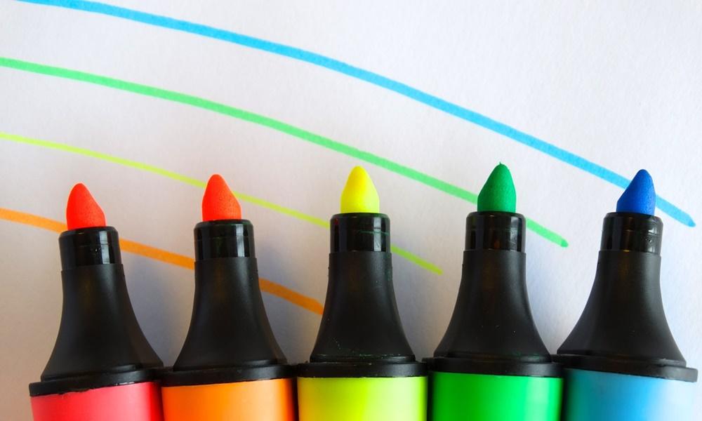 ストーク, スワロー, 蛍光ペン