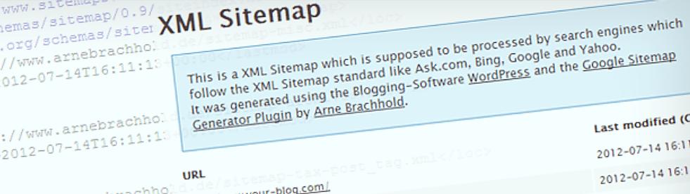 xmlsitemap 2 - Google XML Sitemapsの設定とサーチコンソールへの登録方法
