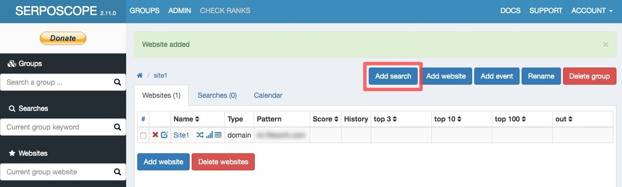SERPOSCOPE 27 - 検索順位チェックツール『SERPOSCOPE』の設定方法と使い方