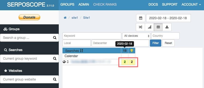 SERPOSCOPE 33 - 検索順位チェックツール『SERPOSCOPE』の設定方法と使い方